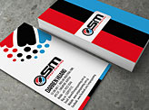 OSM spray painting Business Card