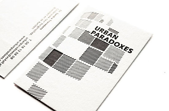 Urban Paradoxes Business Card