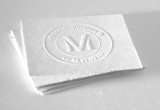 Victor Matussiere Business Card