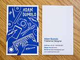 Adam Dumolo Business Card