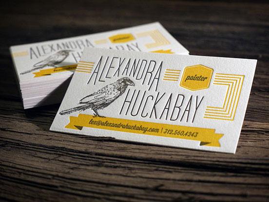 Alexandra Huckabay Business Card
