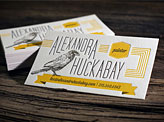 Alexandra Huckabay Business Card