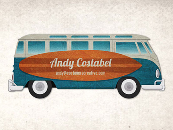 Bus Business Card