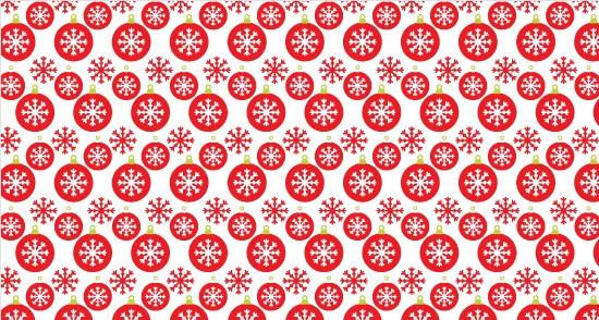 Christmas Bell And Snowflake