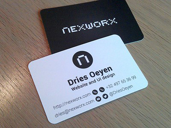 Dries Oeye Business Cards