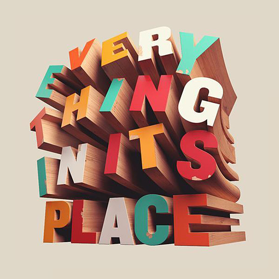 Every Thing In It's Place
