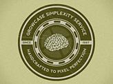 Growcase Simplexity Service Badge