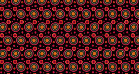 Neon Abstract Circle