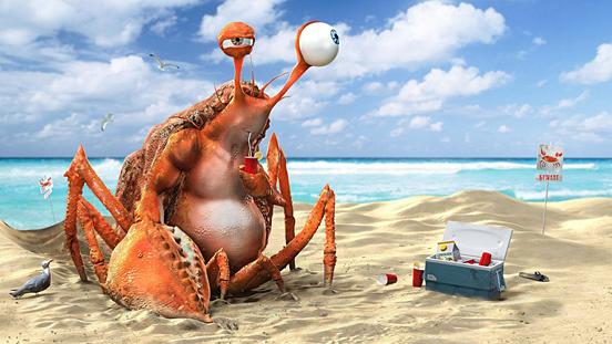 Thirsty Crab