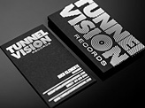 Tunnel Vision Records Business Card