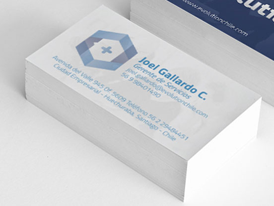 Evolution Business Card