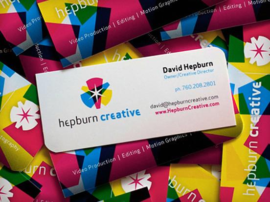 Hepburn Creative Business Card