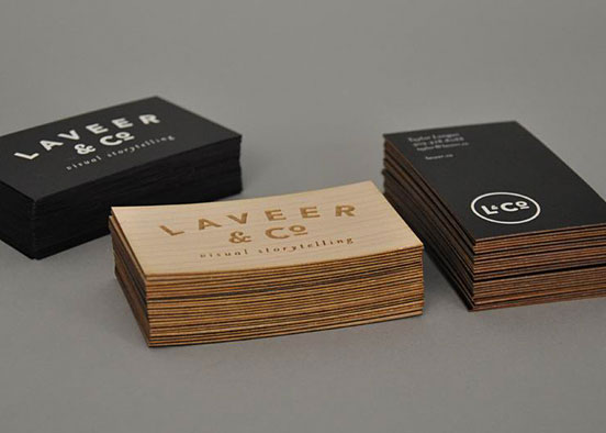 L&Co. Business Cards
