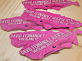 Pink Whale Business Card