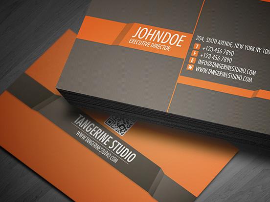 Tangerine Studio Business Card