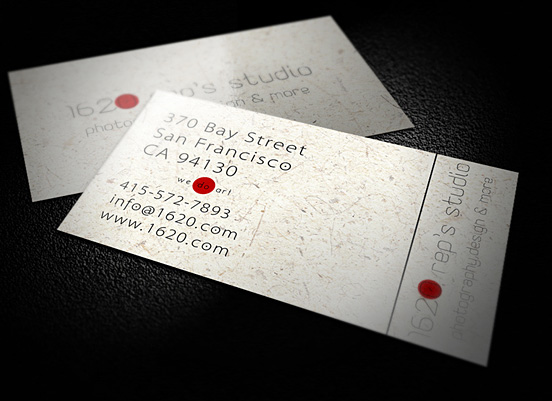 1620 business card