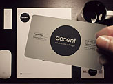 Accent Business Card