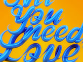 All You Meed is Love
