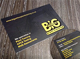 Big Yellow Business Cards