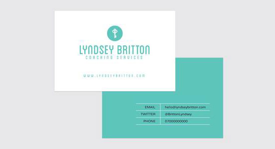 Coaching Business Card