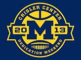 Michigan Crisler Center Dedication