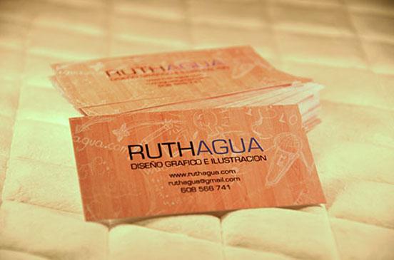 Ruth Agua Business Card