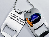 Dog Tags Business Cards
