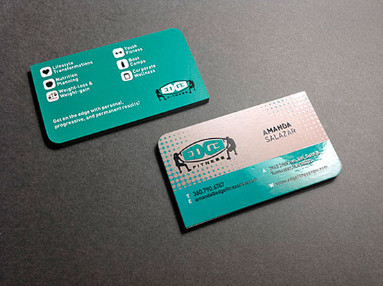 Edge Fitness Business Card