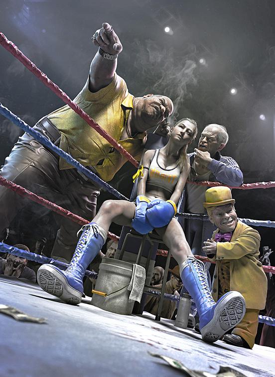 Fight in the dark
