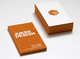 JUKES DESIGN Business Cards