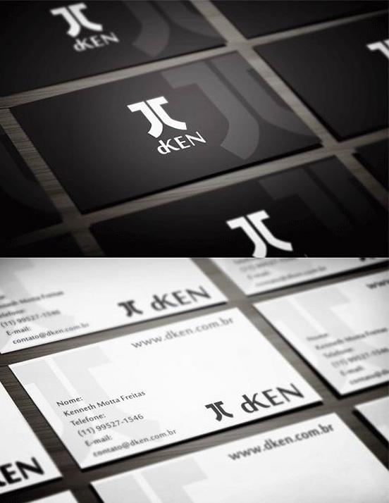 Minimalist Style Business Card