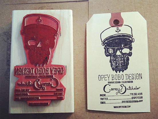 Opeybobo Design Business Card
