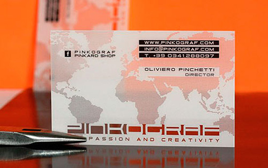 Pinkard Business Card