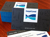 Gaspe Cured Business Card