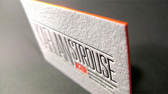 Kaelan Strouse Business Card