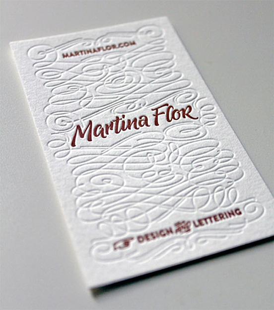 Martina Flor Business Card