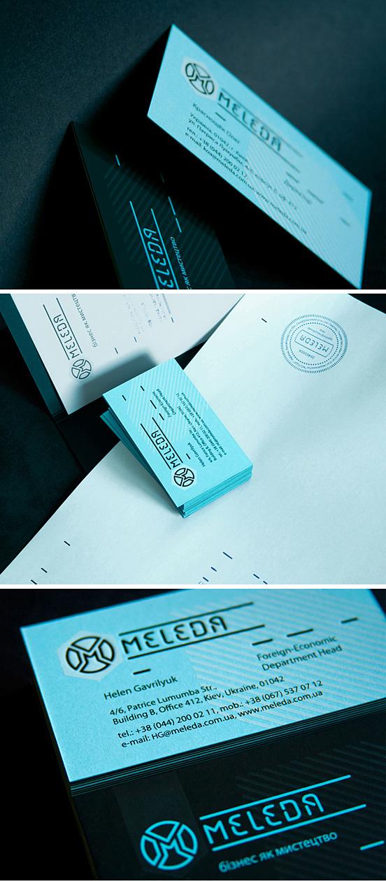 Meleda Business Cards