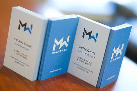 MindWarp LLC Business Cards