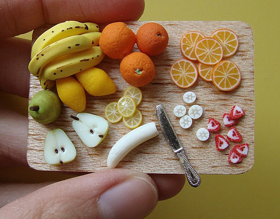 Miniature Food Fruit Prep'Board