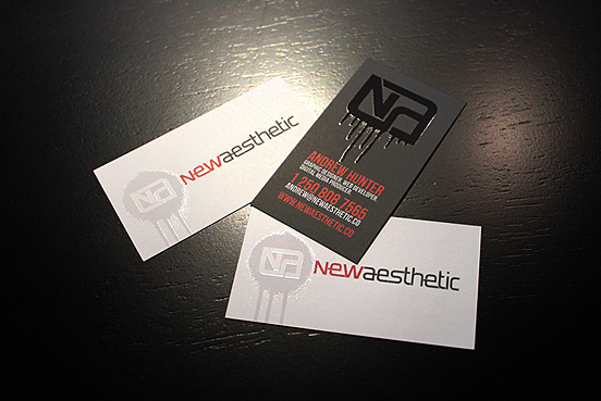 Newaesthetic Bizzy Business Card