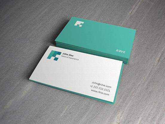 R3ve Business Card