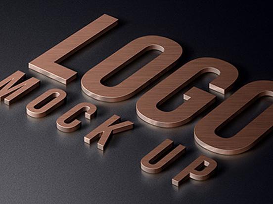 Realistic Logo Mock Up