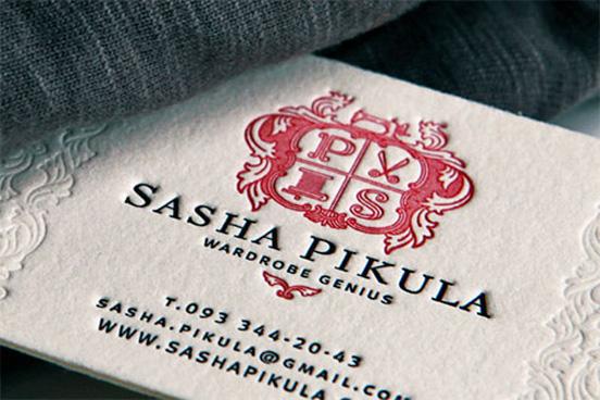 Sasha Pikula Business Card