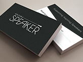 Speaker Business Cards