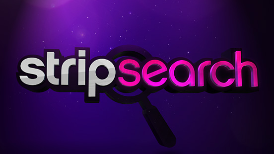 Strip Search intro sequence