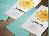 Sunshined Business Card