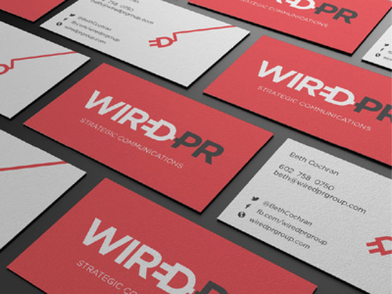 Wired PR Group Business Card