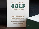 Alumni Golf Classics
