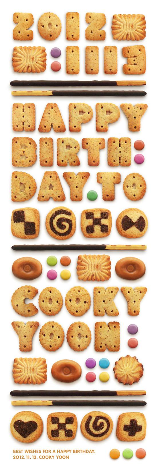 Happy Birthday to Cooky Yoon