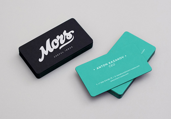 Mors Business Cards